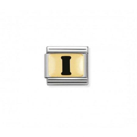 Nomination Link composable classic lettre i noir