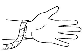 taille poignet