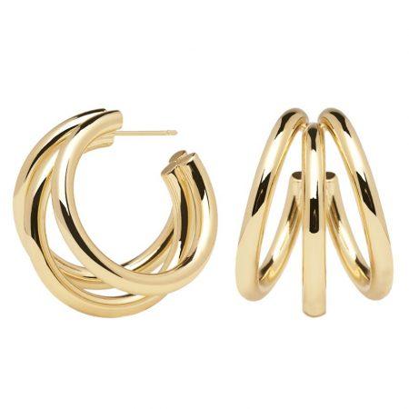 PDPAOLA Collection PURE - TRUE GOLD - BO métal doré.