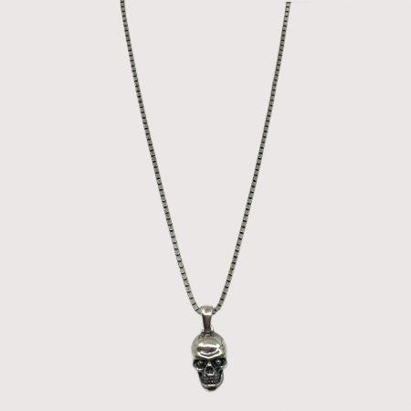 Silvex Chaîne avec pendentif tête de mort