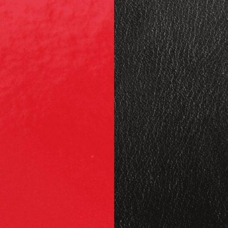 Les Georgettes Cuir Rouge Vernis / Noir