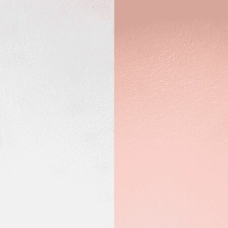 Les Georgettes Cuir Rose clair / Gris clair