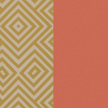 Les Georgettes Cuir motif Blush/Rubik