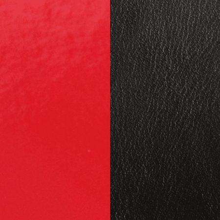 Les Georgettes Cuir rouge Vernis/Noir