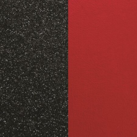 Les Georgettes Cuir Pailletes noir/Rouge