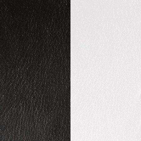 Les Georgettes Cuir Noir / Blanc