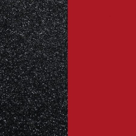 Les Georgettes Vinyle Noir Pailleté / Rouge Soft