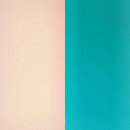 Les Georgettes Vinyle Rose Clair / Turquoise