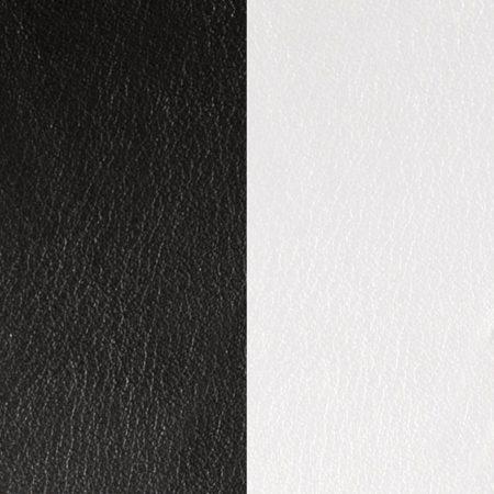 Les Georgettes Cuir Noir/Blanc