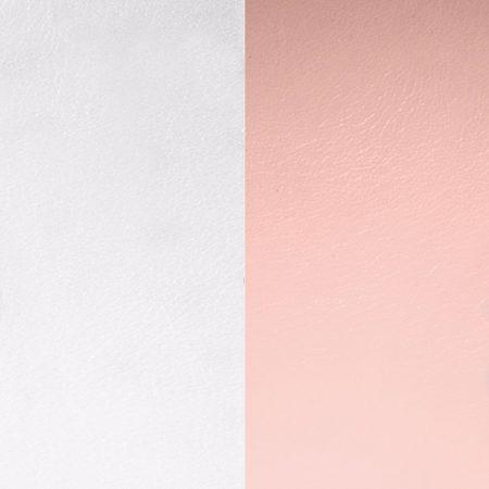 Les Georgettes Cuir Rose Clair/Gris Clair