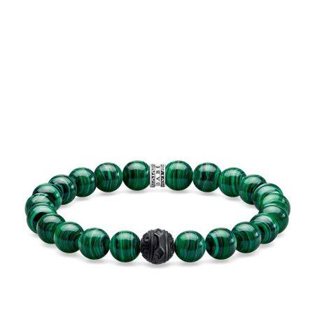Thomas Sabo Bracelet black cat vert