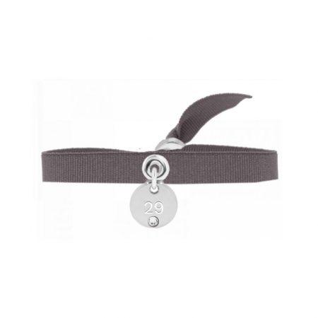INTERCHANGEABLES Bracelet Number Rond 29 Marron glacé
