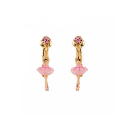 Les Néreides Boucles d'oreilles dorées ballerine