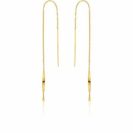 ANIA HAIE Boucles d'oreilles dorées Helix Threader
