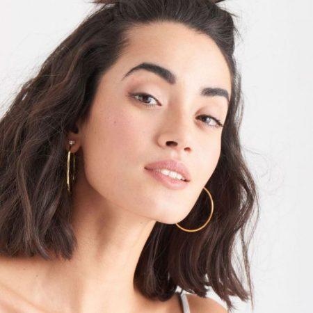 ANIA HAIE Boucles d'oreilles Glow Hoop