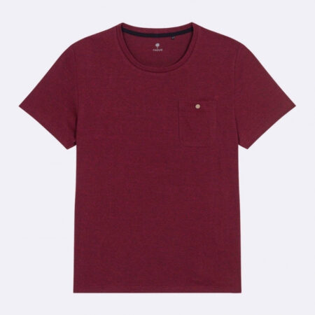 Faguo T-shirt col rond en coton