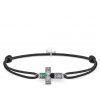 Thomas Sabo Bracelet little secret croix nacre d'abalone