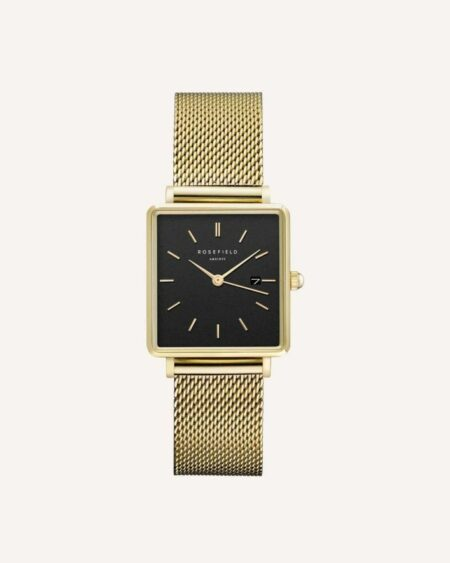 Rosefield The Boxy Noir - Or 33mm