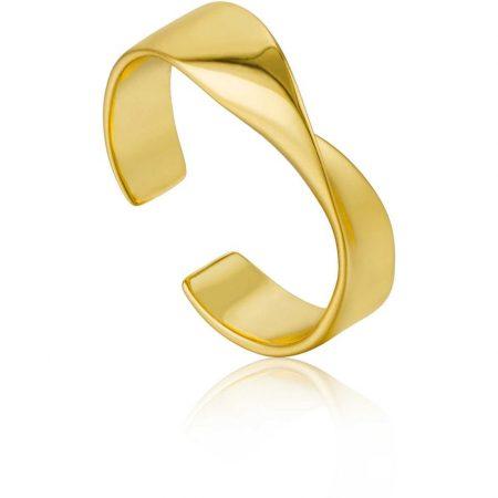 ANIA HAIE Bague ajustable Gold Helix